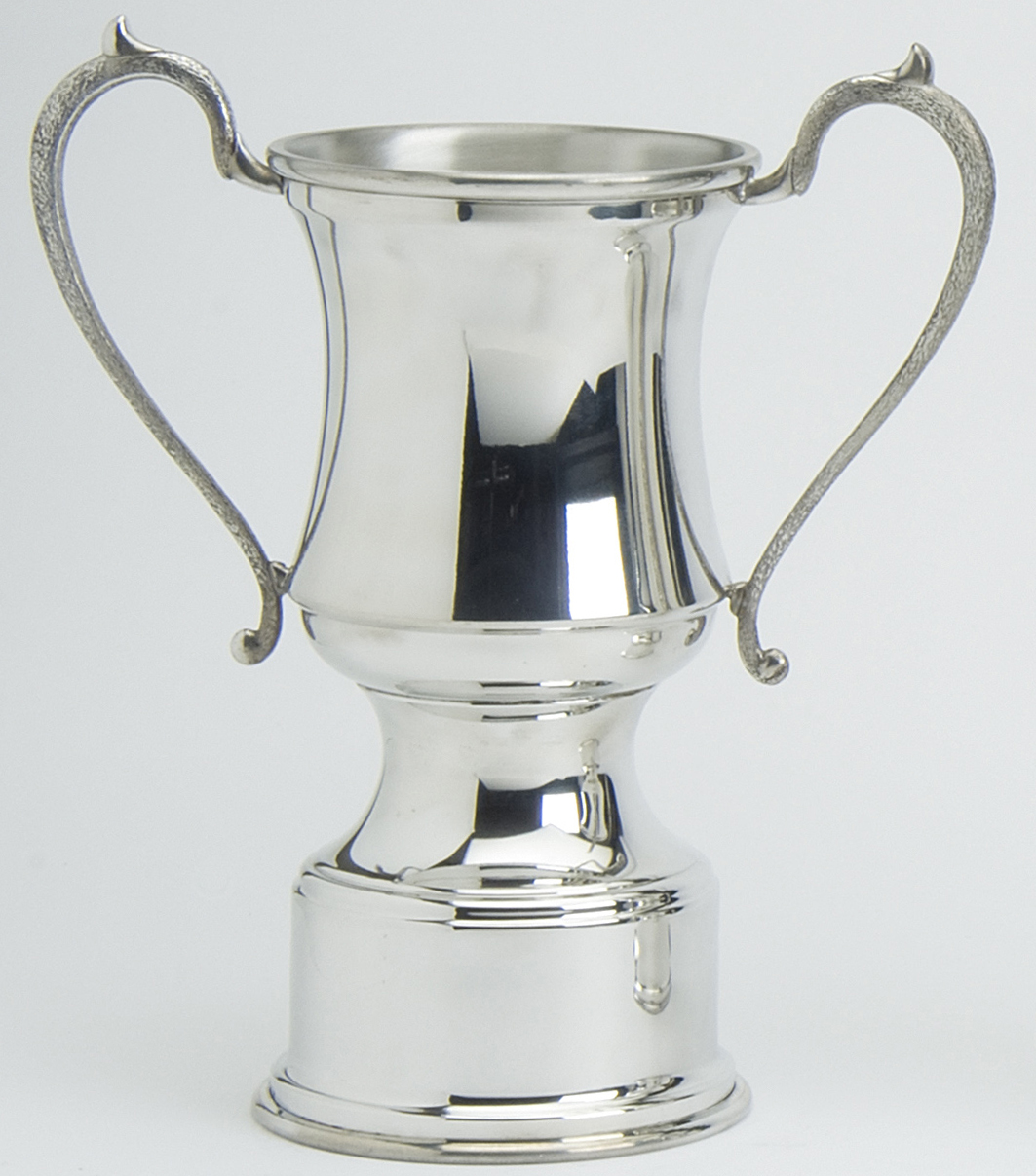 Pewter Trophies Traditional Plain Four sizes.The Plain Traditional Trophies are available in four different sizes 6, 8, 10, 12 inches and are presented in a box.