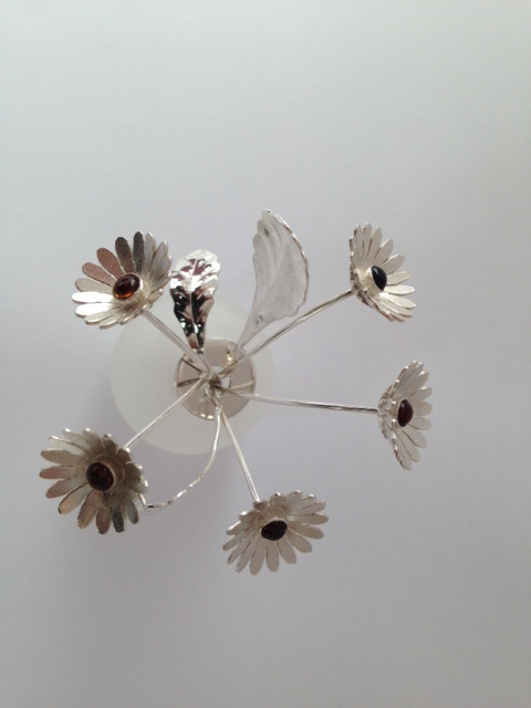 Sterling Silver Daisies