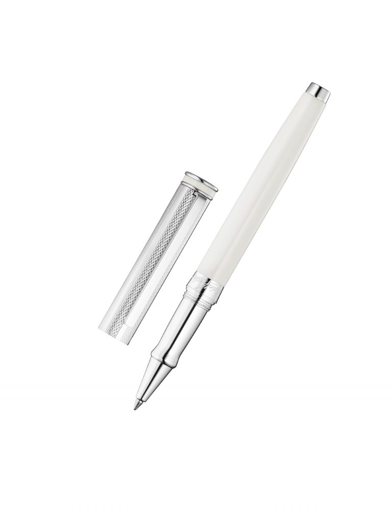 Silver Rollerball Edelfeder Champagne Lacquer
